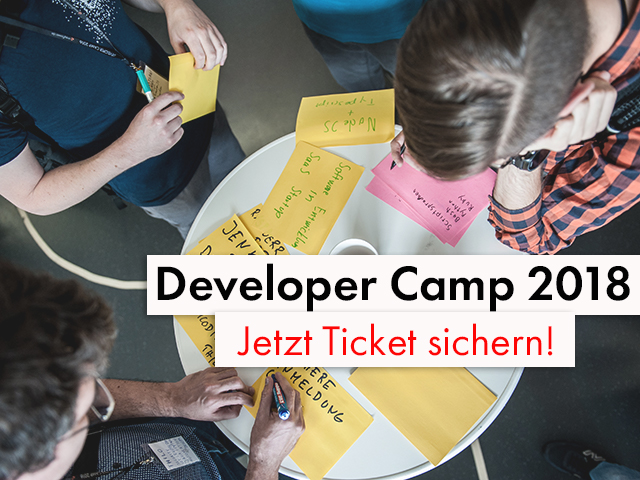 Deveveloper Camp 2018