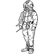 Illustration: grimmig dreinblickende Figur